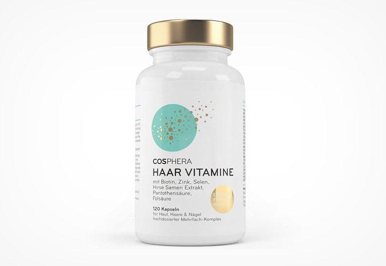 Cosphera Haar-Vitamine - Vegane Kapseln